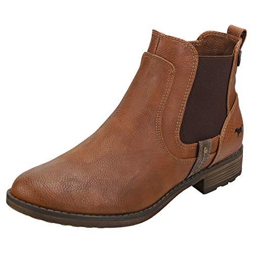 MUSTANG Damen 1265-501-301 Chelsea Boots, Braun (Kastanie 301), 41 EU