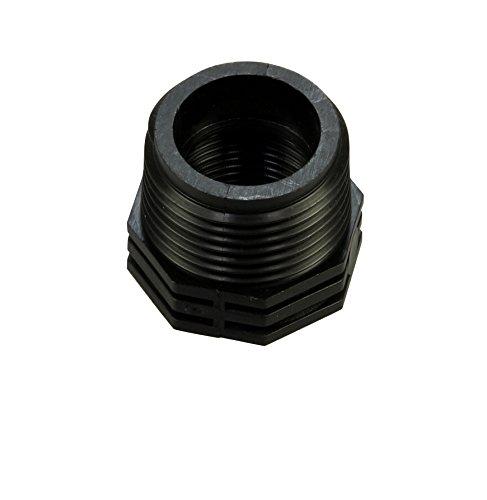 Hozelock 8963 3726 Mamelon de raccord de tuyaux avec filetages intérieurs et extérieurs 1 x 3/4\