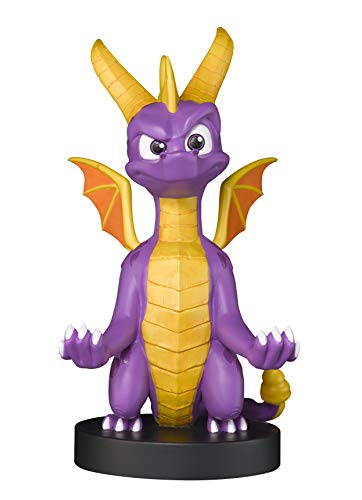 Exquisite Gaming Cable Guy - Spyro The Dragon XL - Charging Controller and Device Holder - Toy - Xbox 360