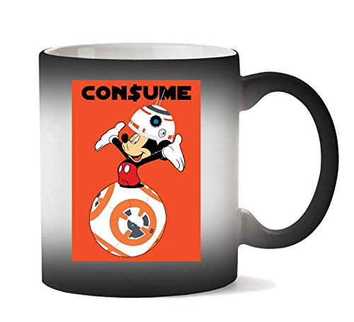 Mickey Mouse x R2D2 Consume Tasse Hitze Farbwechsel