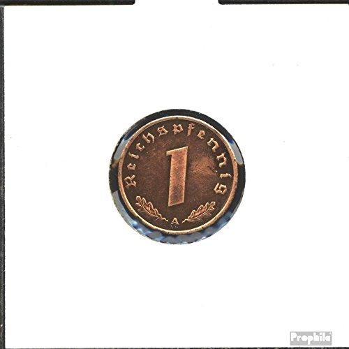 Deutsches Reich Jägernr: 361 1938 A sehr schön Bronze 1938 1 Reichspfennig Reichsadler (Münzen für Sammler)