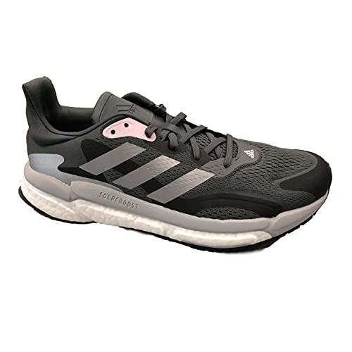 ADIDAS Solar Boost 03 Zapatillas de Carretera para Mujer Negro Gris Pink 42 2/3 EU