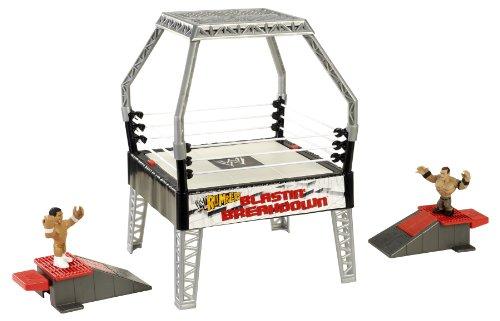 Mattel – WWE Rumblers – Blastin' Breakdown – Ring + 2 Figurines 5cm (Import Royaume-Uni)