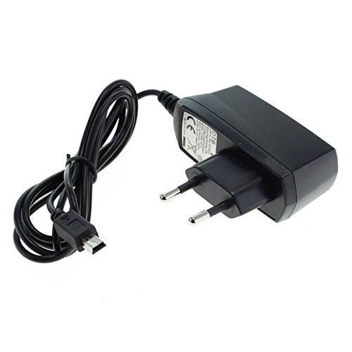 GIGAFOX® Ladegerät Ladekabel Datenkabel Netzteil (Mini-USB) 1,2m 1A // Telme C135 // schnelles Laden
