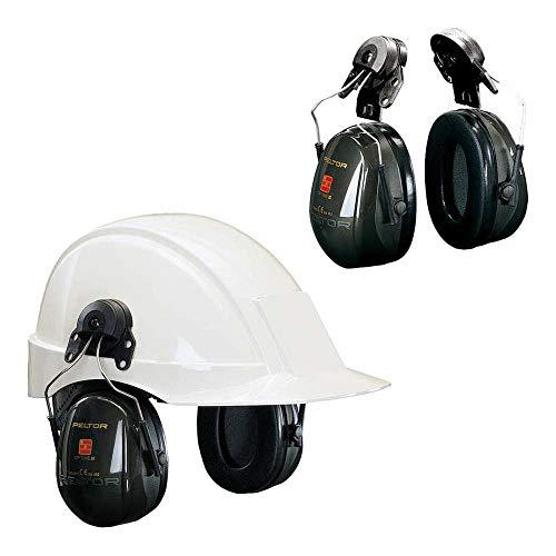 3M PELTOR Optime II Orejeras para casco Verdes 30 dB (1 orejera/caja), H520P3E-410-GQ-01