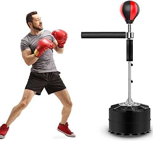 Pelota de gimnasia, saco de boxeo independiente con barra reflectante de 360 grados para el gimnasio en casa