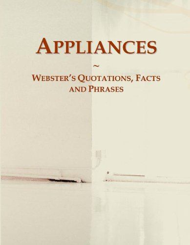 Appliances: Webster's Quotations...