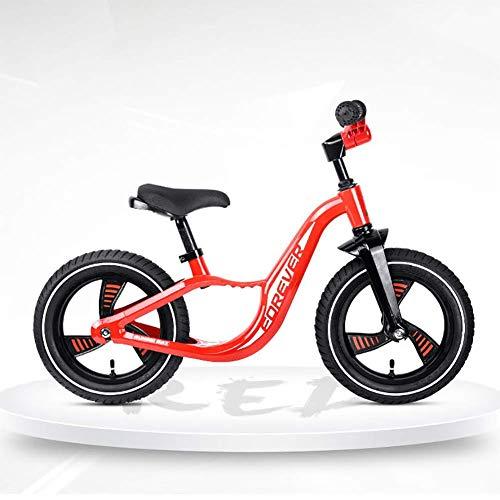 ZNDDB Balance Bike Geen Pedaal Fiets Met Verstelbare Stuur En Stoel Voor Kinderen Van 2-6 Jaar Oud