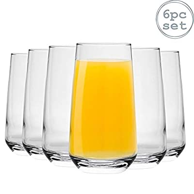 Argon Tableware 'Tallo' Water/Juice Hiball Glasses - Gift Box Of 6 Glasses - 480ml (16.9oz) from Argon Tableware