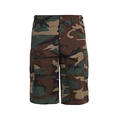 Camouflage Shorts Xtra Long Woodland Camo Fatigue Shorts 2 XLARGE