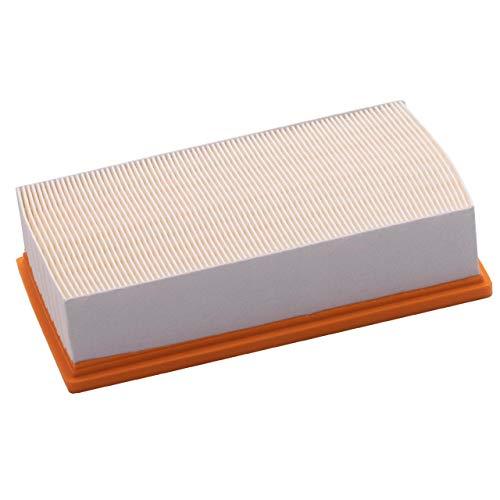 vhbw Flachfaltenfilter Ersatz für Kärcher 6.904-242.0 für Kärcher Nass- & Trockensauger Staubsauger - Filter HEPA-Filter Ersatzfilter