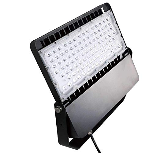 AntLux LED Flood Light 200W Super Bright Stadium Lights, 26000LM, 5000K, Outdoor Parking Lot Shoebox Arena Courts Security Lighting Fixture, 1200W Equivalent, IP66 Waterproof LED Floodlight