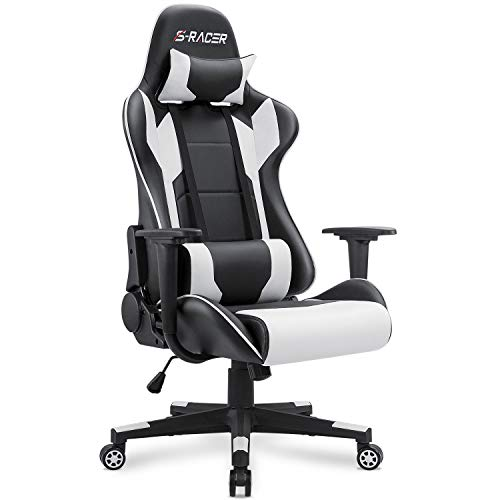 Homall Gaming Chair Office Chair High Back Computer Chair PU Leather Desk Chair PC Racing...