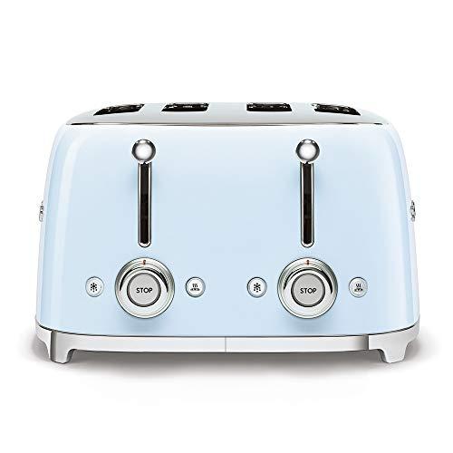 Smeg TSF03PBEU Toaster, 2000, Metall, Blau