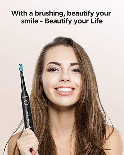 Electric Toothbrush Powerful Sonic Cleaning