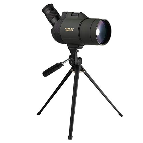 Visionking 25-75x70 Maksutov 100% Waterproof Bak4 Spotting scope w/ Tripod Case Mainly Color Green