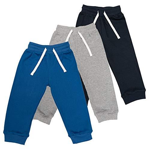 Lovjoy Pantalones Informales para bebés y niños y niñas / 100% algodón, Suaves y cómodos (3, 18-24 Meses)