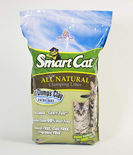SmartCat All Natural Clumping Litter, 20-Pound (6506)