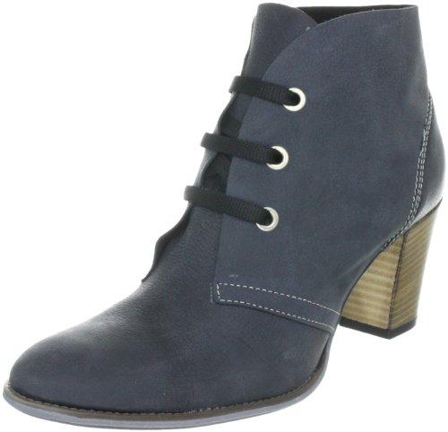 Evita Shoes Damen Stiefelette elegant Stiefel, Schwarz (schwarz), 40 EU