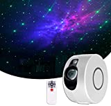 Sky Projection Lamp with Remote Control, Star Projector, Night Light Projector, Galaxy Projector for Bedroom, Game Rooms, Home Theatre, Party