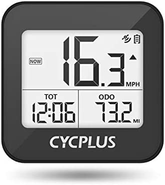 CYCPLUS Bike Computer GPS Wireless Bicycle Speedometer and Odometer Waterproof Cycling Computer product image
