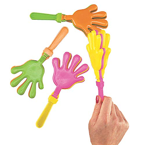 12 Large 15 Assorted Hand Clappers