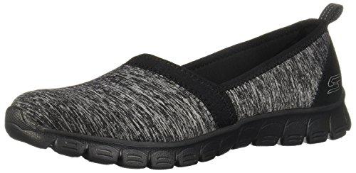 Skechers EZ Flex 3.0 Swift Motion Womens Slip On Sneakers Black 6