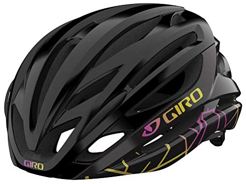 Giro Seyen MIPS Womens Road Bike Helmet - Black Craze (2021) - Small (51-55 cm)