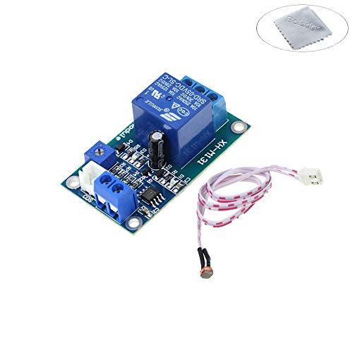 Boladge Interruptor de Control de la Luz del Coche 12V Módulo de Relés de la Fotorresistencia Sensor de la Detección de la Luz (12V)