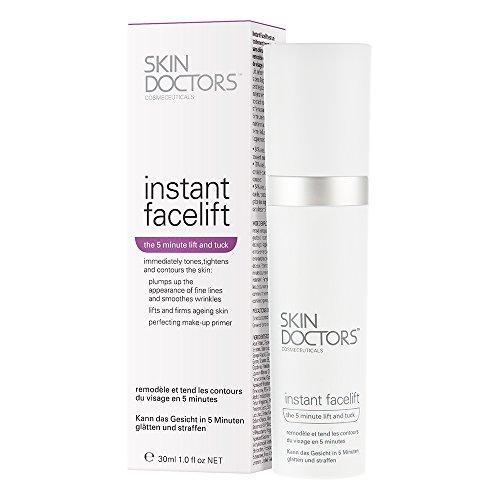 Skin Doctors Instant Facelift Serum, Make-up Primer, Reduziert Fältchen, Matte Primer, Belebt & Strafft die Haut, 30ml
