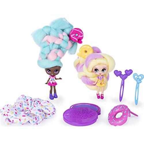 Candylocks 6054719 ndylocks Sweet Treats BFF Dolls Donna Nut, Multicolore