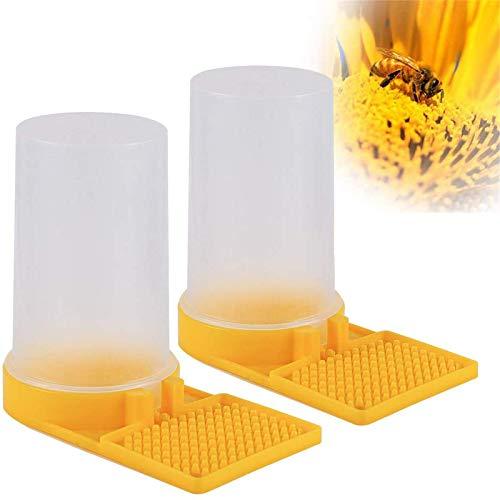 Mikimiqi 2 Pack Beehive Beekeeping Water Dispenser Bee Drinking Beekeeping Equipment Honey Beehive...