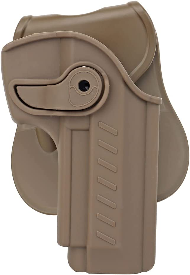 ACEXIER M92 Airsoft Holster Tactical Pistol Holster Cinturón Chaleco Accesorios Ajustable MOLLE Quick Pull Holster