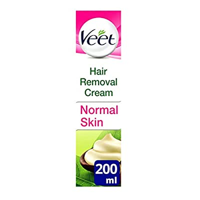 Veet Naturals Hair Removal Cream for Normal Skin, 200 ml from Reckitt Benckiser