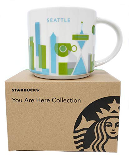 Starbucks 2013 You Are Here Collection, Seattle-Tasse, 400 ml