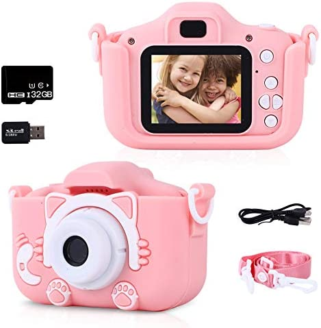 Kids Camera Kids Digital Camera for Girls and Boys with 2 Inch IPS Screen and 1080P Video Toddler product image