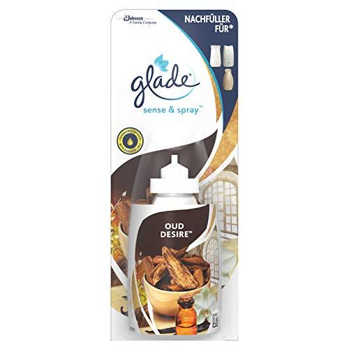 glade (Brise Sense & Spray Nachfüller Lufterfrischer Gerät, Oud Desire (orientalisch), 1er Pack (1 x 18 ml)