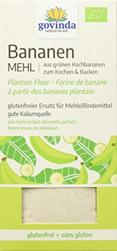 Govinda 100% grünes Bananenmehl glutenfrei (1 x 350 g)