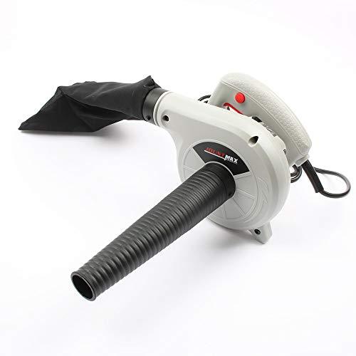 AYGANG 600W eléctrico de Aire del Ventilador Aspirador de Polvo Que sopla Recopilación 2 en 1 Ordenador colector de Polvo del Limpiador for el Coche del Enchufe de 220V soplador de Hojas