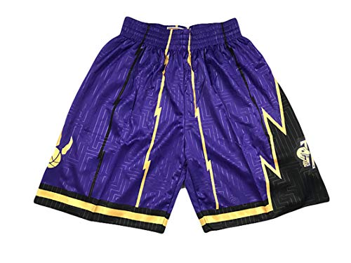 EARAID Raptors Vintage Chaleco de Baloncesto Deportes Pantalones Cortos, 1# McGrady 15# Carter Swing Ballball Jersey Sportswear Top Shorts-M