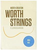Worth Strings BS ウクレレ弦 ブラウンストロング 63インチ フロロカーボン