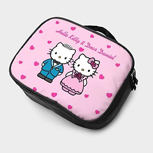 Neceser bolsa de aseo Hello Kitty And Dear Daniel para boda multifunción...
