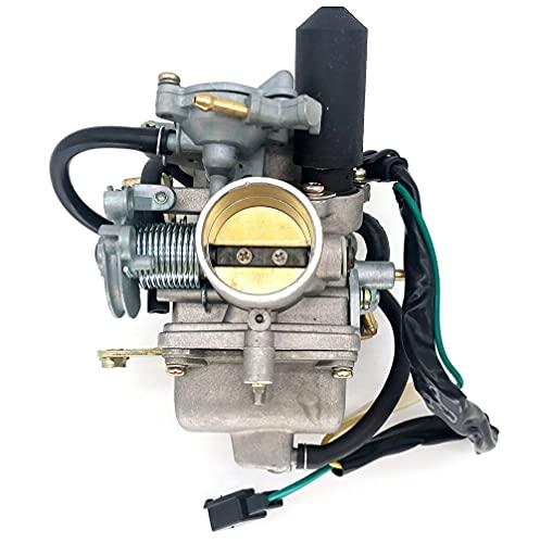 WAZDV Carburador de 30 mm con E-Shoke para 250cc de enfriamiento de Agua Scooter de Motocicleta ciclomotor (Color : 2)