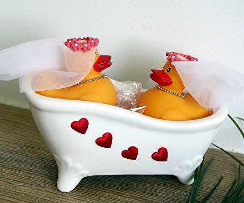 Generisch Geschenk Hochzeit - Badende Enten (Frau & Frau)