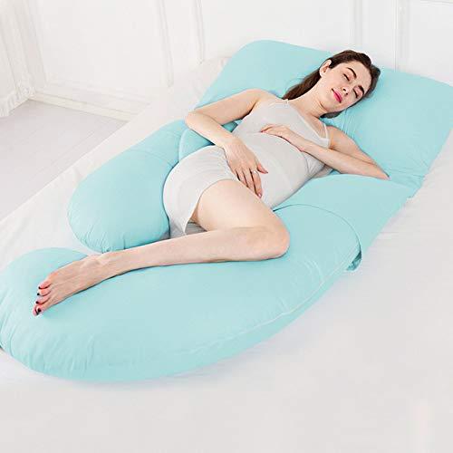 cuscino per il corpo, cuscino per la gravidanza a forma di g cuscini per il corpo per le donne in gravidanza maternità traversine laterali cuscini biancheria da letto cuscino, chunlanse, cuscino
