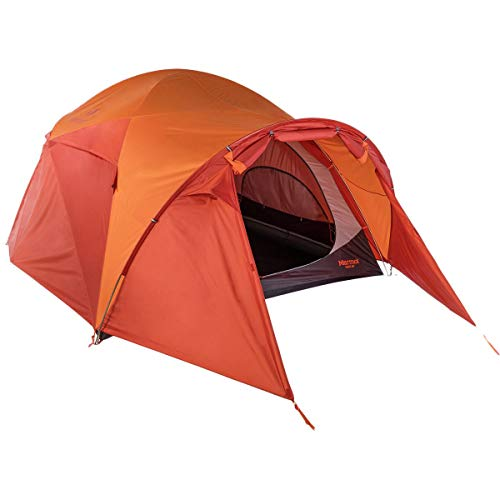 Marmot Halo 6 Person Family Camping Tent shown without the fly.