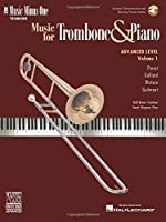 Advanced Trombone Solos: For Trombone (Music Minus One (Numbered))