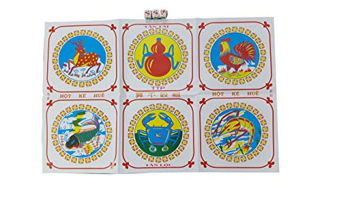 Gourd Fish Shrimp Crab dice. Crown Anchor Game. Chuck a Luck Game. BAU ca Tom cua, BAU cua ca cop. Lunar Game... are The Names Funny dice Game on Vietnamese Lunar New Year.