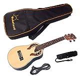 Sharplace 23 Pulgadas Ukulele Guitar Bag Case String Strap Belt Capo Ukulele Accesorios