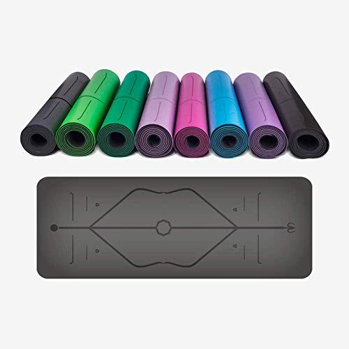 Yoga Matte, Langlebig, Leicht, Umwelt Freundliche Nicht-Slip Sport Fitness Matte Kann Vermeiden Knie Schmerzen, Bequeme Lagerung Tasche, Familie